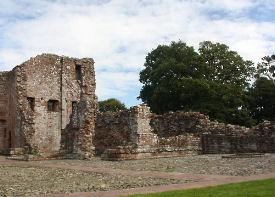 Castle Kitchen Ruins At Brougham