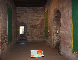 medieval great hall in carlisle castle