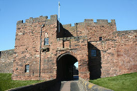 carlisle castle constructed 1122