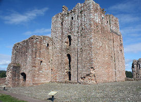 brougham castle constructed in early 13th century