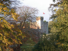 naworth castle constructed 1335