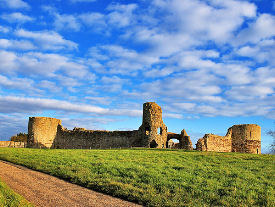 pevensey castle by Neil Alderney
