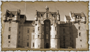 fyvie castle, scotland