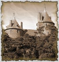 Замок Coch castle Castel_coch