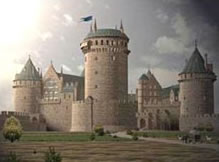 medieval castle in history