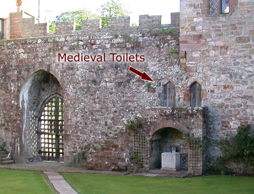 medieval toilets
