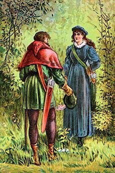 Robin Hood with Maid Marian